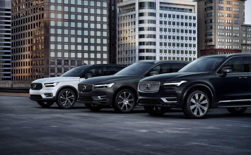 SUV panākumi nodrošina <strong><em>Volvo</em> zīmolam pārdošanas rekordu</strong>