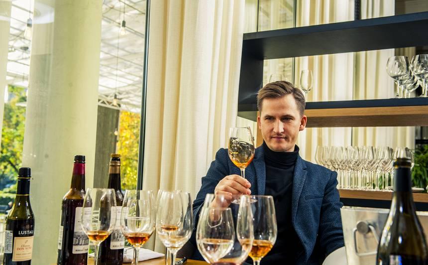 Latvijas vadošais vīnzinis Raimonds Tomsons <strong>par vīna un ēdiena precināšanu</strong>