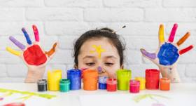 Kāpēc bērniem tik ļoti <strong>patīk zīmēt?</strong>