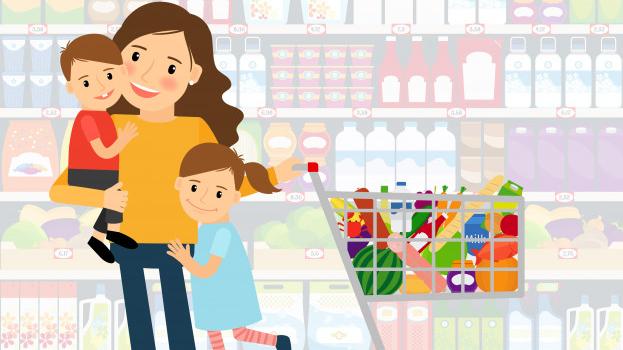 Nepareizās mammas sleja. <strong>Ar bērniem uz lielveikalu!</strong>