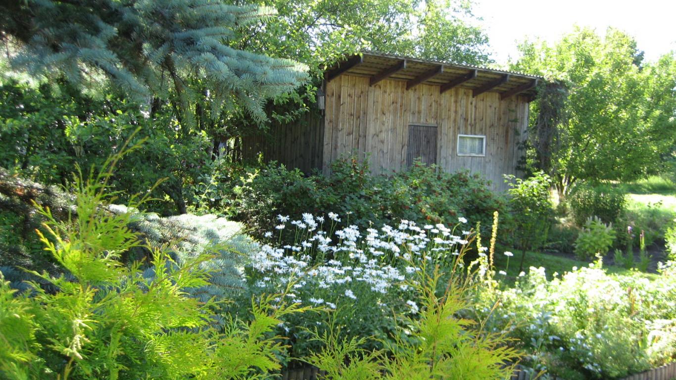 Tipiska latvieša tipisks dārzs. <strong>Ciemos pie aktiera Zigurda Neimaņa</strong>