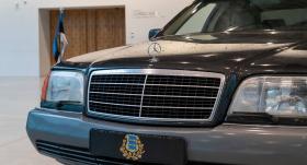 Igaunijas Nacionālajā muzejā būs apskatāma <strong>bijušā prezidenta Meri <em>Mercedes-Benz S-klase</em></strong>