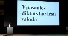 Pasaules diktātu latviešu valodā <strong>teicami izpildījuši tikai 20 rakstītāji no 2024</strong>
