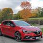 <strong><em>Renault Megane R.S. Trophy</em></strong> pirmais testa brauciens
