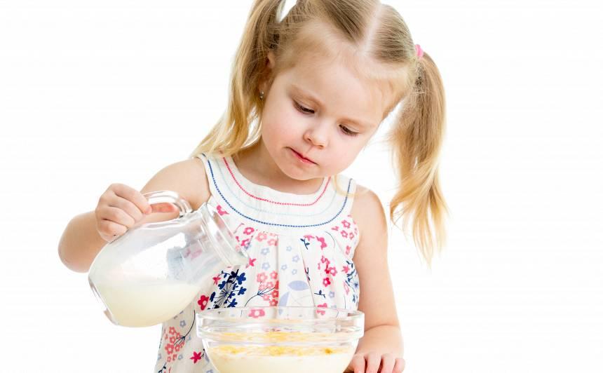 <strong>Govs piens</strong> bērnam. Vai vajadzīgs?