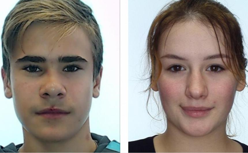Ventspilī meklē divus 16 gadīgus jauniešus — <strong>Kseniju Bikovu un Denisu Mamlaju</strong>