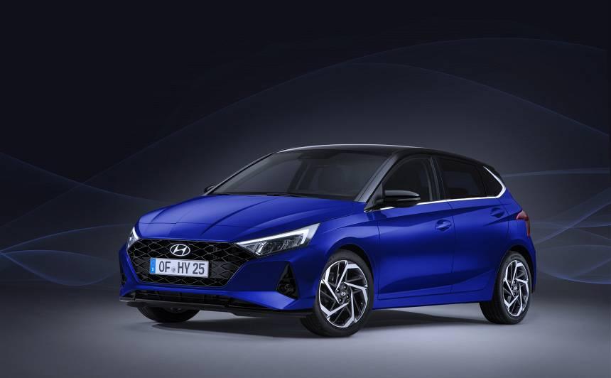 <em>Hyundai</em> iepazīstina ar <strong>jauno <em>i20</em></strong>