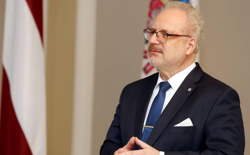 Levits: Eiropai vajadzētu pārņemt <strong>Latvijas augstos standartus naudas atmazgāšanas novēršanā</strong>