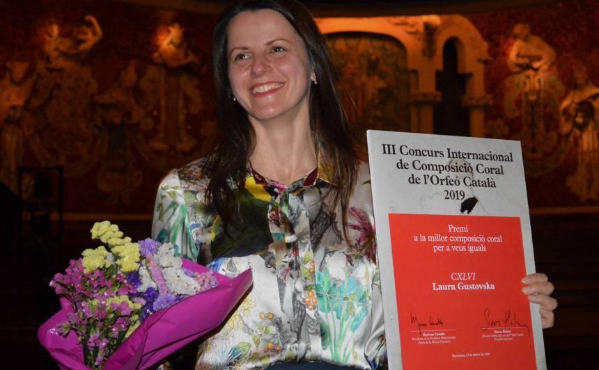 Latviešu komponiste Laura Gustovska uzvar <strong>starptautiskā konkursā Katalonijā</strong>