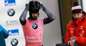 Martins Dukurs šā gada pasaules čempionātā <strong>paliek bez medaļas</strong>