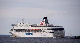 <strong>Vētras dēļ kavējas</strong> <em>Tallink</em> prāmja <em>Romantika</em> reisi