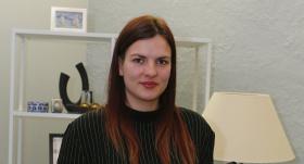 <strong>Olgas Rajeckas meita</strong> Marija strādā seriālā