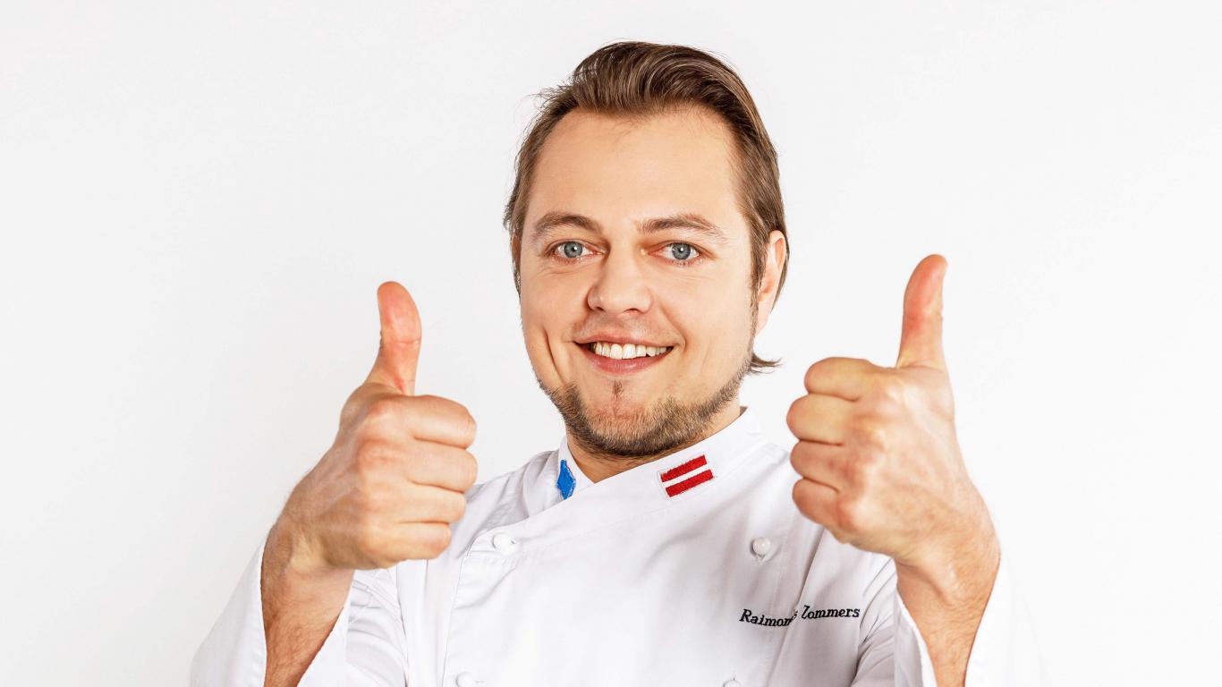 <em>Asais nazis</em> šefpavārs Raimonds Zommers: <strong>Mājās priekšroku dodu ātrajām receptēm</strong>