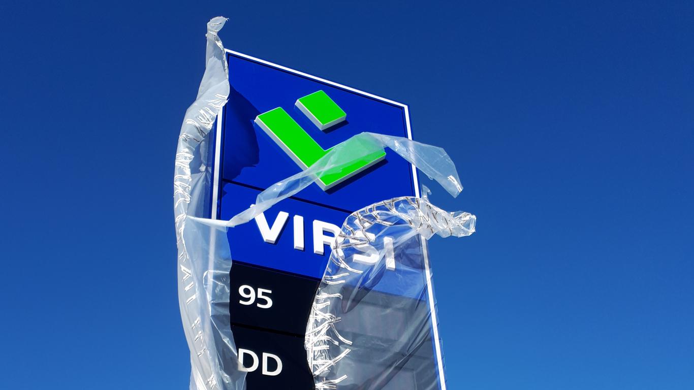 Babītē un Ķekavā atklātas <strong>jaunas <em>Virši</em> degvielas uzpildes stacijas</strong>