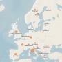 Interaktīva karte <strong>koronavīrusa izplatības izsekošanai</strong>