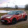 Modernizētā <strong><em>Toyota C-HR</em></strong> pirmais brauciens