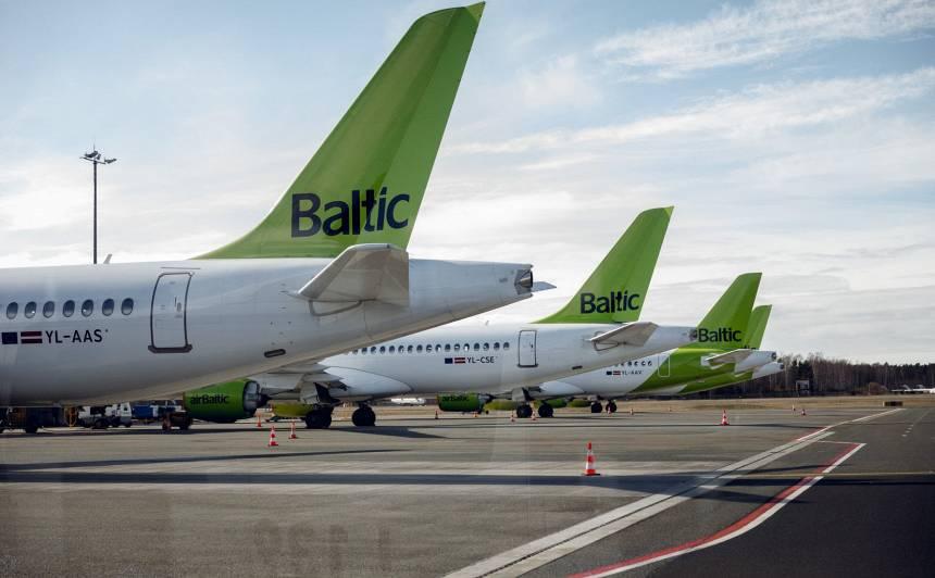 <strong><em>airBaltic</em> izziņo speciālus reisus</strong> no Londonas un Frankfurtes