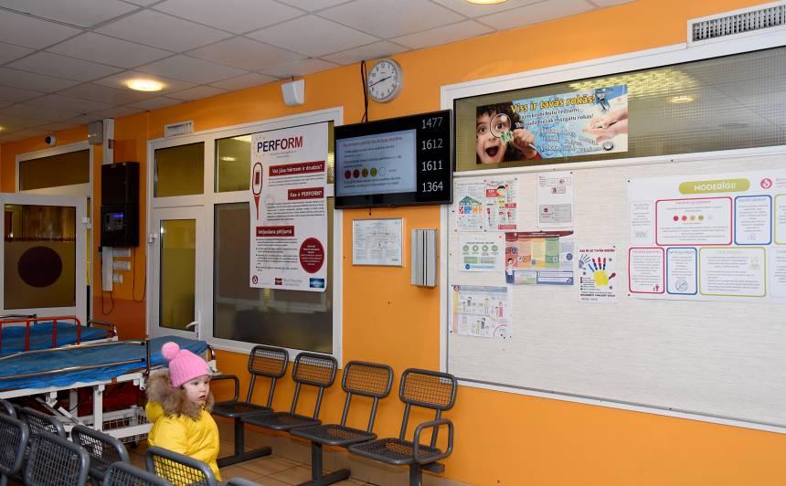 Bērnu slimnīcā <strong>ierobežo ambulatoros un dienas stacionāra pakalpojumus</strong>