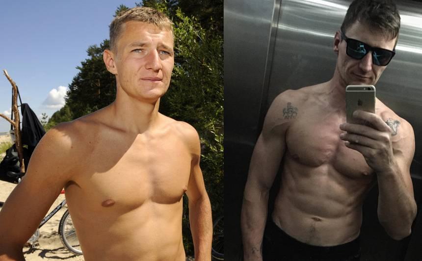 Mārtiņš Pļaviņš audzē muskuļus: <strong>Agrāk domāju, ka ar manu ķermeni tādu rezultātu sasniegt nevar</strong>