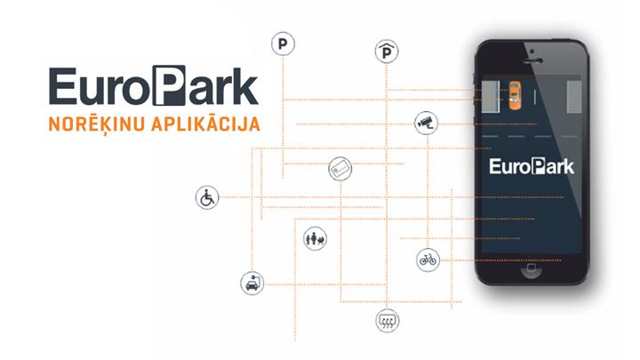 <em>EuroPark</em> ievieš <strong>jaunu mobilo aplikāciju autostāvvietu apmaksai</strong>