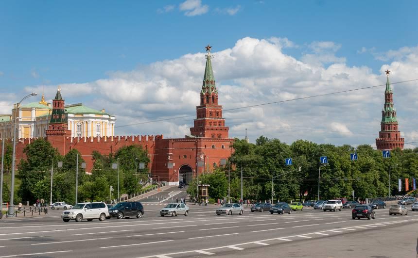 Maskavas iedzīvotājiem nosaka <strong>pašizolācijas režīmu</strong>