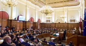 Artusa Kaimiņa saslimšanas ar <em>Covid-19</em> dēļ <strong>SPKC izmeklēs visus Saeimas deputātus</strong>