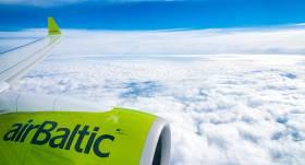 <em>airBaltic</em> pirmdien veiks <strong>papildu lidojumus</strong>