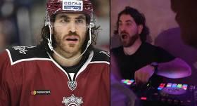 FOTO: Pēc hokeja sezonas <strong>Majone kļūst par dīdžeju</strong>