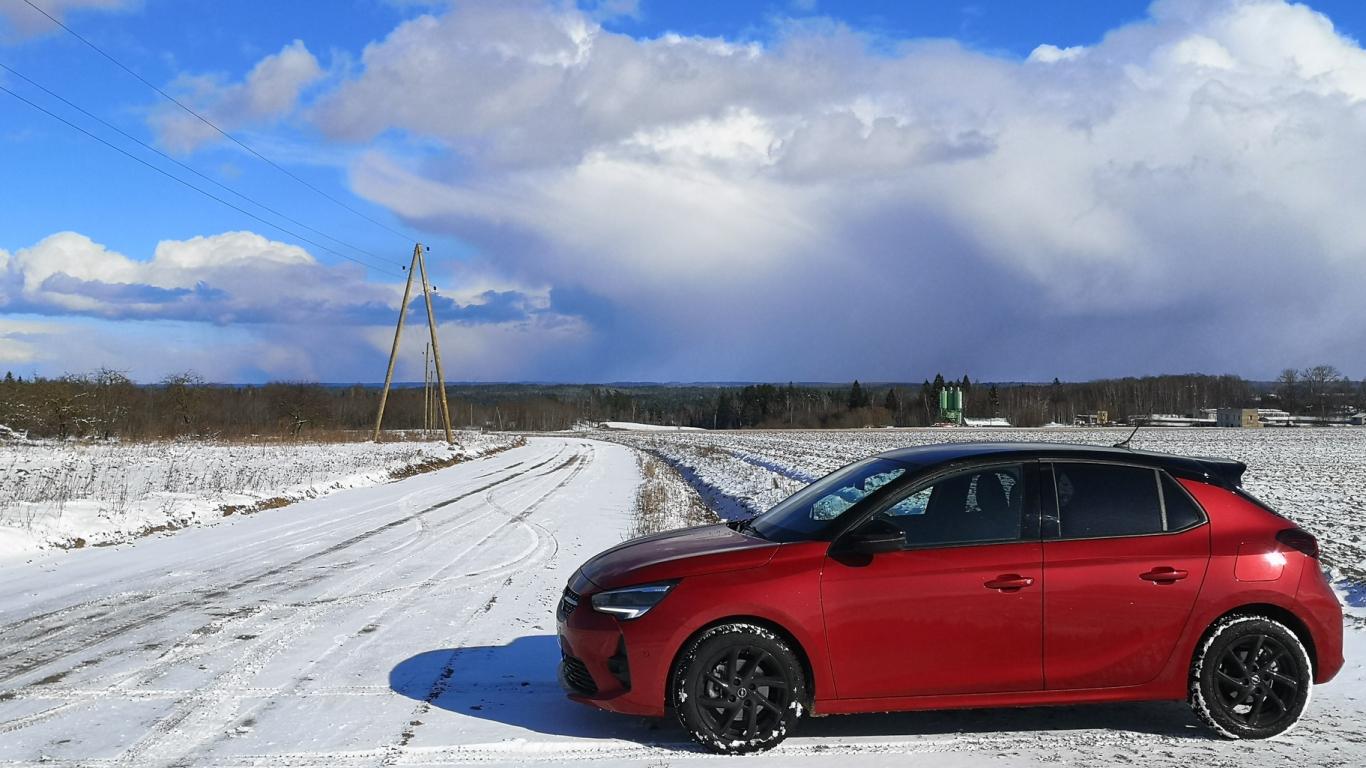 <strong><em>Opel Corsa</em></strong> pirmais brauciens