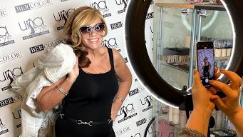 VIDEO: Žanna Dubska pārģērbjas par ekscentriskuārzemnieciun <strong><em>Lapsas mājā</em> plēš traukus</strong>