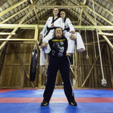 Piecu bērnu tēvs Gintauts Tarvids: <strong>Īstā dzīve ir tava ģimene</strong>