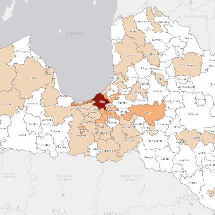 <em>Covid-19</em> gadījumi konstatēti arī <strong>Jelgavas, Mērsraga un Krustpils novados</strong>