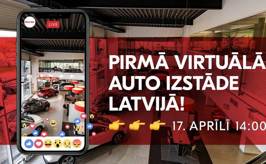 Latvijā notiks <strong>pirmā virtuālā tiešsaistes auto izstāde</strong>