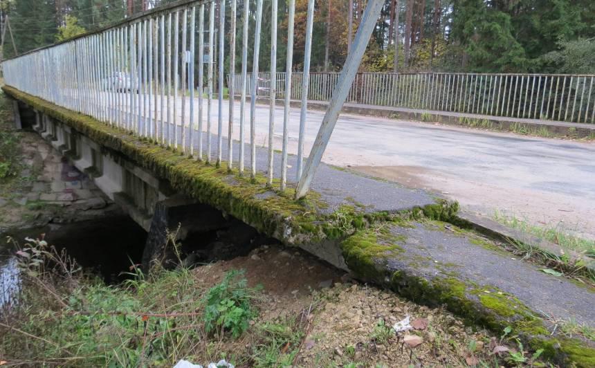 Ropažu novadā sāk <strong>atjaunot tiltu pār Tumšupi</strong>
