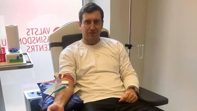 Uzņēmējs Rūdolfs Brēmanis <strong>grib inficēties ar <em>Covid-19</em></strong>