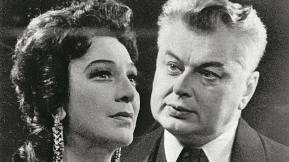 Elza Radziņa un Kārlis Sebris, 1962. gads