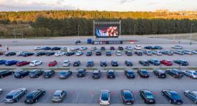 Lietuvā <strong>popularitāti gūst brīvdabas kino</strong>