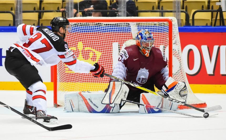 IIHF apsptiprina grupas nākamā gada <strong>pasaules hokeja čempionātam Rīgā un Minskā</strong>