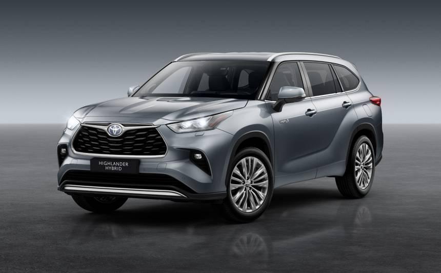Septiņvietīgais <strong><em>Toyota Highlander</em> nonāks Eiropas tirgū</strong>