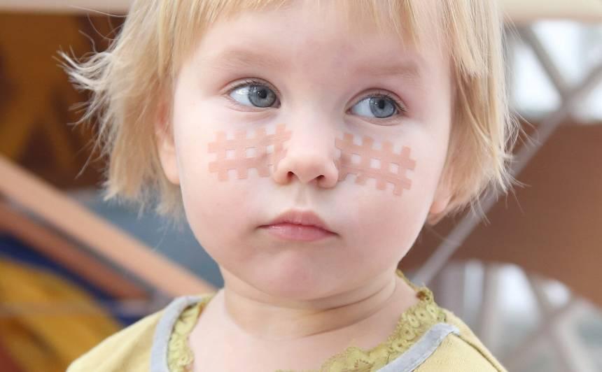 Kā mazulim var palīdzēt <strong>teipošana?</strong>