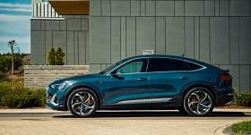 360 grādu tūre: <strong><em>Audi e-tron Sportback</em> piedzīvo pirmizrādi Latvijā</strong>