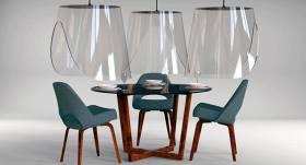 <em>Covid-19</em> laika dizains: <strong>Francūzis izdomā elegantu drošības risinājumu restorānu klientiem</strong>