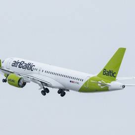 Lietuvas valdība <strong>atļauj <em>airBaltic</em> atsākt reisus no Viļņas uz Rīgu un Tallinu</strong>