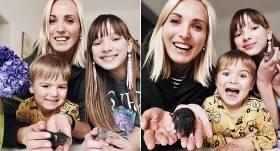 TV personības Kristīnes Virsnītes <strong>ģimenē ienāk divas žurkas</strong>