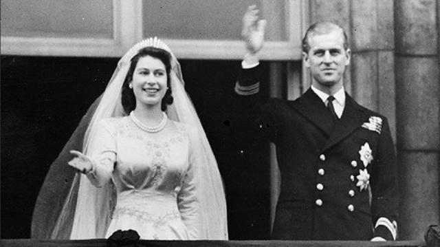 Karaliene Elizabete II un princis Filips