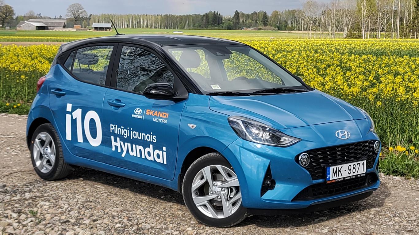 <strong><em>Hyundai i10</em></strong> pirmais brauciens