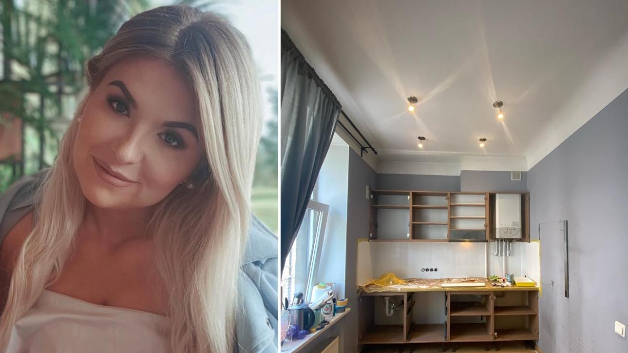 Uzņēmēja Viļa Krištopana meita par 150 eiro <strong>pati izremontē virtuvi</strong>