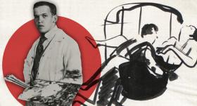 <strong>Izcilais latviešu mākslinieks Romans Suta</strong> – māksla, kaislības, arests un nāvessods…