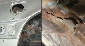 VIDEO: Servisā atklāj <strong>nekvalitatīvi veiktu BMW 3. sērijas (E30) virsbūves remontu</strong>