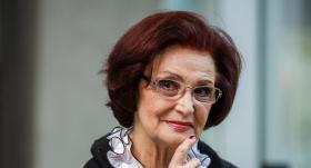 Aktrise Olga Dreģe: Mēs visi bijām <strong>aizrāvušies ar pārmērībām, egoismu un varaskāri</strong>